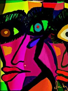 A man's image - Claudy - Virtual art - 2013