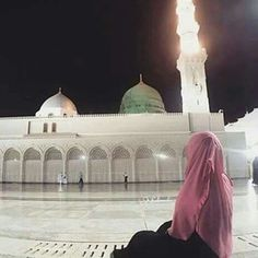 There is no place like Medina Arab Girls Hijab, Muslim Girls, Muslim Couples, Muslim Women, Muslim Pictures, Islamic Pictures, Muslim Hijab, Islam Muslim, Alhamdulillah