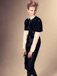 Anna Selezneva by Andreas Sjodin for Vogue Japan January 2012