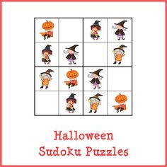 Halloween Sudoku Puzzles store product image