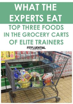What the Experts Eat: Top 3 Foods