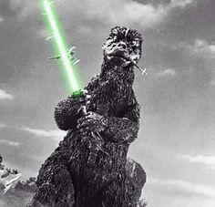ゴジラ Jedi Godzilla... let's mix it up a bit!