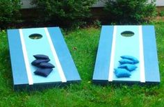 How to build a cornhole toll game
