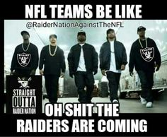 Raiders are coming