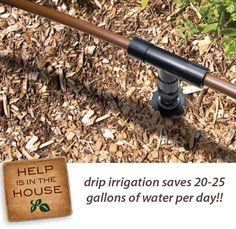 50 stück Micro Drip Tropfer Sprinkler Garten Bewässerung