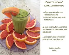 Életmód cikkek és képtár: Egészségünkért Grapefruit, Healthy Recipes, Healthy Food, Food And Drink, Vegetables, Drinks, Breakfast, Gardening, Diet