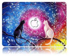 Macbook Air 11, Macbook Case, Keyboard Cover, Painting, Beautiful, Cats, Gatos, Painting Art, Paintings