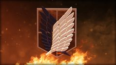 Ignite the Wings of Freedom. Someone who can't sacrifice everything, will never change anything. To defeat the monsters, you have to be willing to throw aside your humanity. Attack on Titan | Shingeki no Kyojin