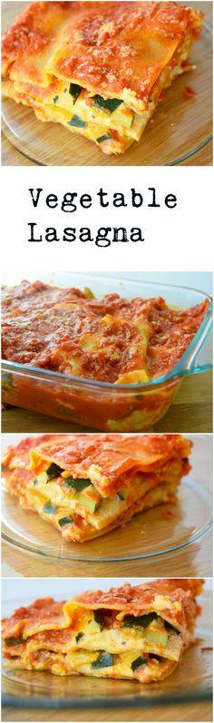 Vegetable Lasagna | Earth Powered Family