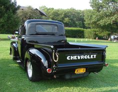 '48 CHEVY PICKUP (check out the license plate)