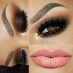 Brown eyes are simply stunning, yet really understated. The best thing about brown colored eyes is that you can rock any combination of makeup! Click to check out our favorite looks for brown eyes! #eyemakeup