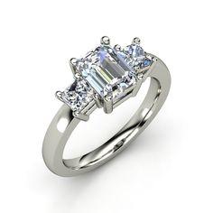 Corte de Princesa idéntico a anillo de compromiso :) bello!