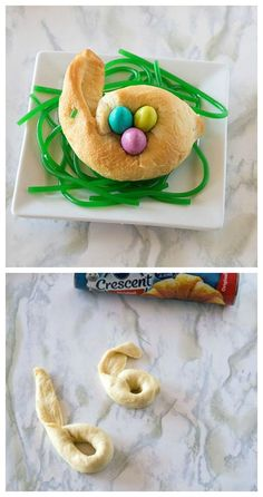 Candy-Filled Crescent Bunnies are Easter's cutest treat. Turn Crescent rolls into candy-filled bunnies in just a few quick and easy steps.