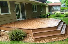 Decks.com. Ground Level Deck - Picture 6466