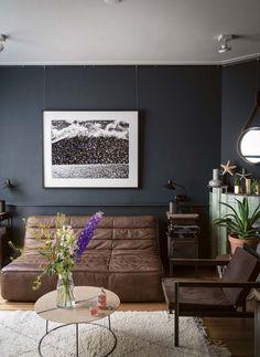 Farrow U0026 Ball Stilvoll Wohnen Mit Farbe Black Blue Wohnzimmer