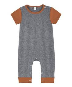 A Modern Minimalist Baby | Zulily Minimalist Baby, Orange Shorts, Toddler Learning, New Today, Baby Boutique, Playsuit, Simple Style, Rompers, Sleeves