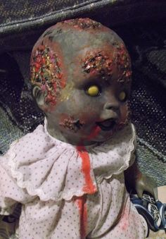 Jessie the Zombie Baby by MistressRae13 on Etsy, $18.00