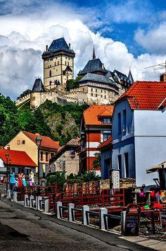 Karlstejn Castle in Prague