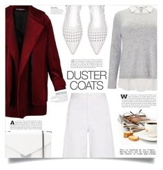 """""""Get Cozy: Chunky Knits"""" by dolly-valkyrie ❤ liked on Polyvore featuring Nino Babukhadia, Helmut Lang, Studio 8, Jimmy Choo and DusterCoat"""