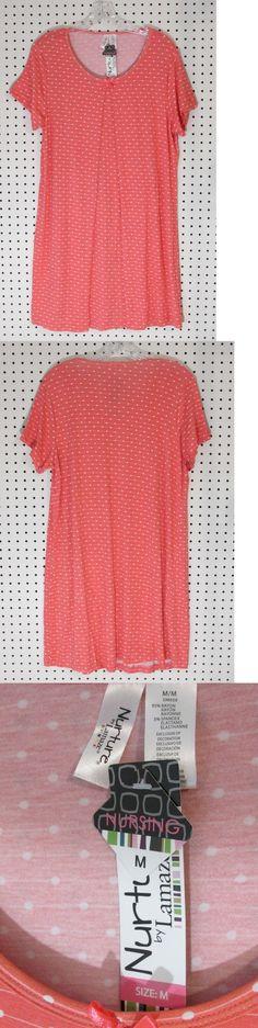 ff14ae694f950 Sleepwear 117771: Nurture By Lamaze Maternity Nursing Short Sleeve Sleep  Gown - Size Medium -