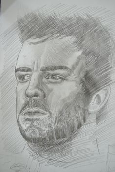 Rough sketching of Fernando Alonso