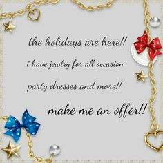 Order tonight.Vacay 12/15 til 1/3* 12/5th to 1/5 vacation. Hurry!! ~~NWOT & NWT jewelry 4 any budget. Click on category and jewelry to see them all. Many items to choose from!! Please be considerate, 50% low balls wb ignored. I've already discounted from msrp. ~~NWT party or evening dresses, FP sweaters & other NWT clothing 4 all sizes. Check my closet out!  ~~Please don't offer me 50% or more off .. I will decline it..only serious offers thru the offer button. ~~pm comm fees are 20%…