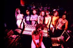 Frank Zappa & Band circa ~ 1973 - 1974