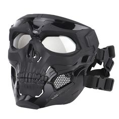 Airsoft Face Mask, Paintball Mask, Paintball Party, Futuristic Helmet, Futuristic Armour, Tactical Helmet, Airsoft Helmet, Airsoft Sniper, Skeleton Mask