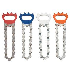 Recycled Bicycle Chain Bottle Opener $11