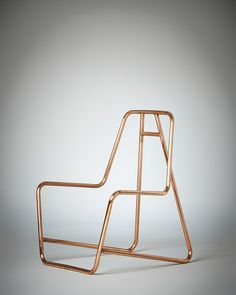 """Lucy Birleyhas collaborated with product designer Lambert Rainville to create """"Chroma Frame"""", and innovative chair system with interchangeable textile covers, allowing the user to explore shape and colour, and have fun with the designer's flexible and informal vision.                Lucy es …"""