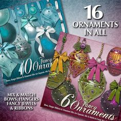 Christmas Digital Scrapbooking Kit BUNDLE – Sugar Plums & Holiday Jewels  Fill your Christmas scrapbooks with sugar plums, snowflakes, ornaments, and more with this luscious 4-pack Christmas bundle…
