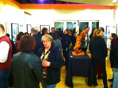 First gallery show of the year.  Well done! BAYarts, January 10 , 2014