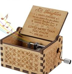 Mom To Daughter, You Are My Sunshine Music Box – Forever Love Gifts Great Gifts For Boyfriend, Great Gifts For Wife, Gifts For Husband, Love Gifts, Gifts For Girls, Best Gifts, Diy Gifts, Sunshine Music, My Sunshine