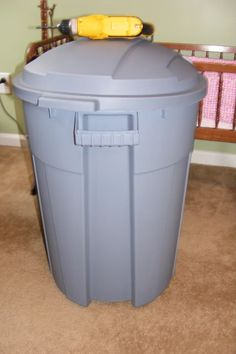 Great DIY for making your own compost bin.