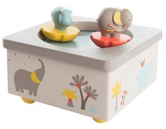 french music box at bonjour petit | baby shower gift guide