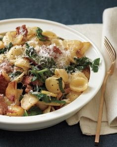 Whip up this simple seasonal pasta dinner on a chilly fall night.