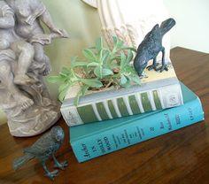 Cottage Hill: Vintage Book Planter...