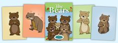 'The Bears' Feelings & Emotional Literacy Cards - New Edition Social Skills Games, Calm Down Kit, Student Voice, Effective Learning, Mixed Emotions, Positive Behavior, New Edition, School Counseling, Small Groups