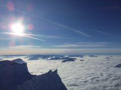 On top of Zugspitz.. tallest mountain in Germany