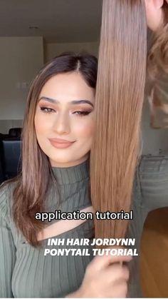 Glam Makeup Look, Glamorous Makeup, Makeup Looks, Eye Makeup, Ponytail Tutorial, Casual Hairstyles, Makeup Yourself, Sexy Outfits, Beauty Hacks