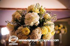 Boda Hortensias y Rosas Amarillas, Decoración Bodas Cali, Serbeb Producciones. www.serbebproducciones.com
