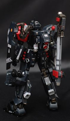 Another cool work claimed as his first work in this gunpla world, a Jesta Another Cannon by G-Faust . A remodeled of MG 1/100 Jesta Cann...