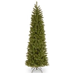 National Tree Co. Baldwin Spruce Artificial Christmas Tree- Slim