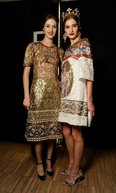 #Dolce & Gabanna Fall/Winter 2013 - 2014 Fashion Show #Backstage