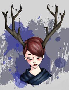 Oh deer ! + speedpaint by Stetfan