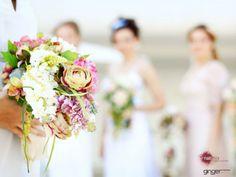 boho chic Bridal Bouquet זרי כלה בסגנון בוהו שיק