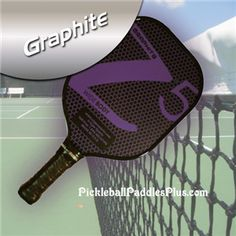 PICKLEBALL PADDLE - Make/Model: Z5  - PADDLE SPECIFICATIONS - Surface: Graphite - Core: Composite - Avg. Weight: 8 oz. - Paddle Length: 15 1/2 in. - Paddle Width: 8 in. - Handle Length: 4 3/4 in. - Grip Type: Thin 4 1/4 in.