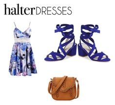 """""""Halter Dresses"""" by rachavez on Polyvore featuring Kenneth Cole and halterdresses"""