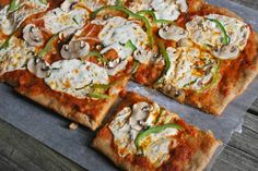 Cheese Please: Mostly Whole Wheat Pizza Dough