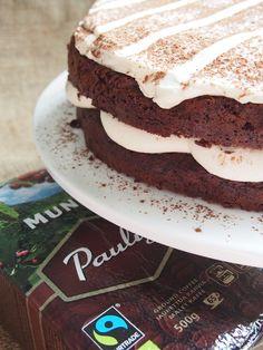 Tiramisu Chocolate Cake.